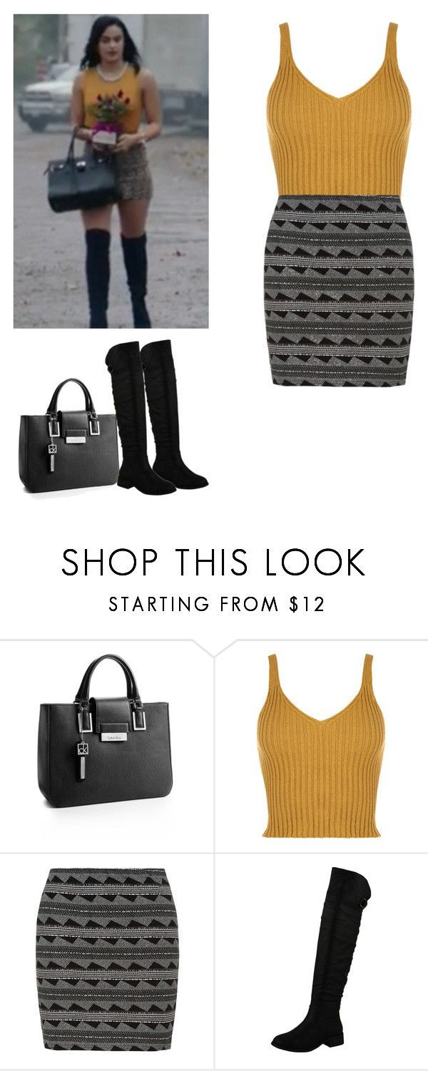 """Veronica Lodge - Riverdale"" by shadyannon ❤ liked on Polyvore featuring Calvin Klein and WearAll"