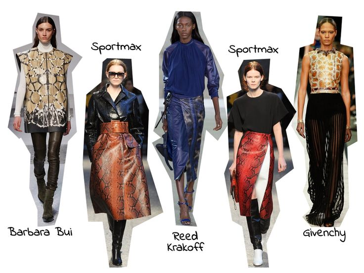 StyleSpectra: Trend Report A/W - Reptile