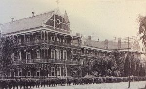 The Beardwood designed Nazareth Home in Webb Street in Yoeville 1895. Part of this building still stands after the main block was demolished in 1986