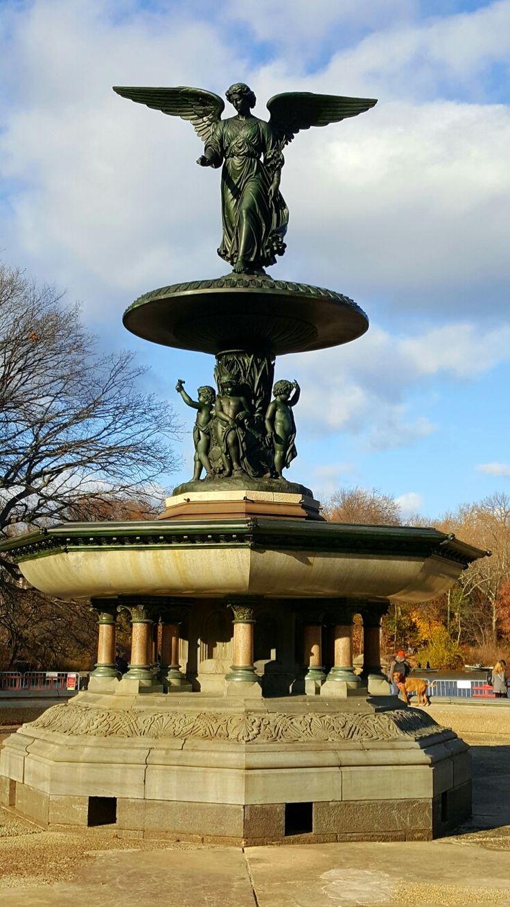 Bethesda Fountain. Central Park. NYC. Desember 2016.