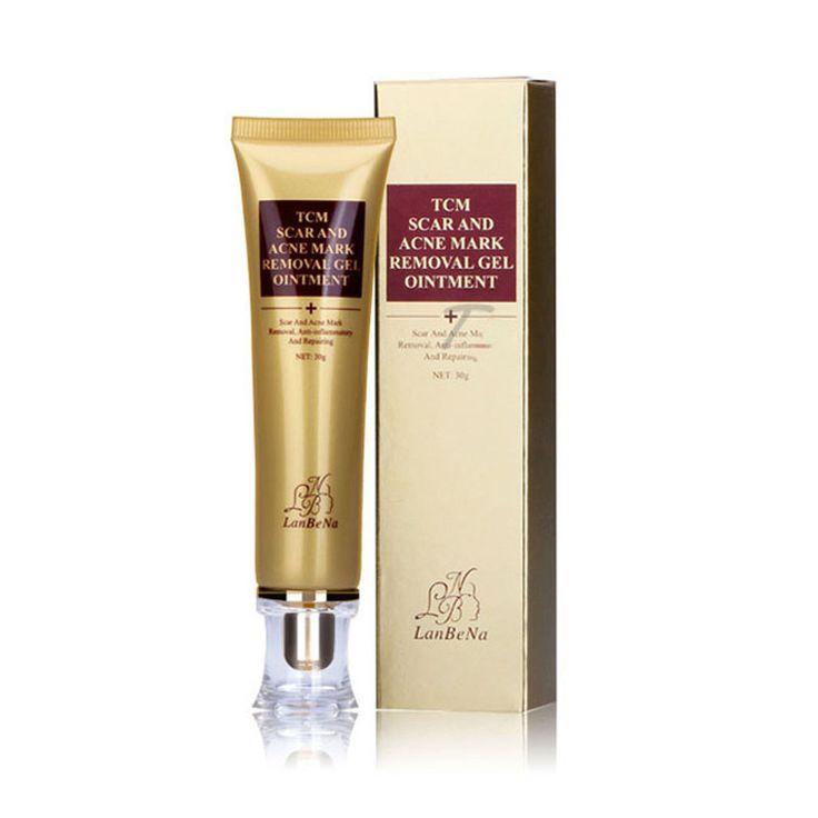 Hot ginseng essenza acne cicatrice rimozione crema per il viso crema macchie acne trattamento sbiancante crema per il viso smagliature 30g