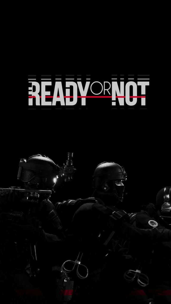 Dark Video Game Ready Or Not Soldier 720x1280 Wallpaper