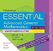 (downloadable pdfs) Essential VCE Mathematics Enhanced: Complete Worked Solutions
