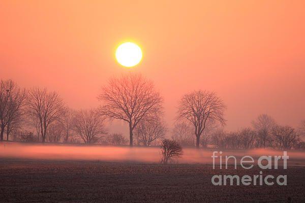 Mystic Red Sunrise
