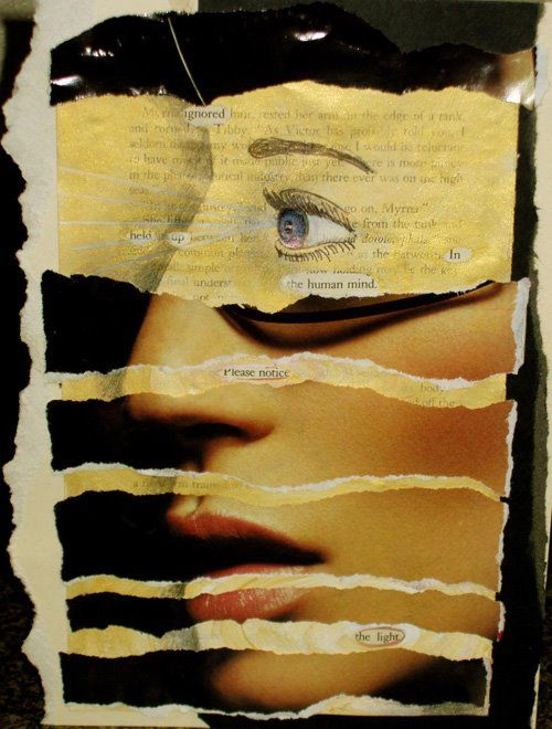 Denver 6-12 Art: Altered Book Page - Art 1