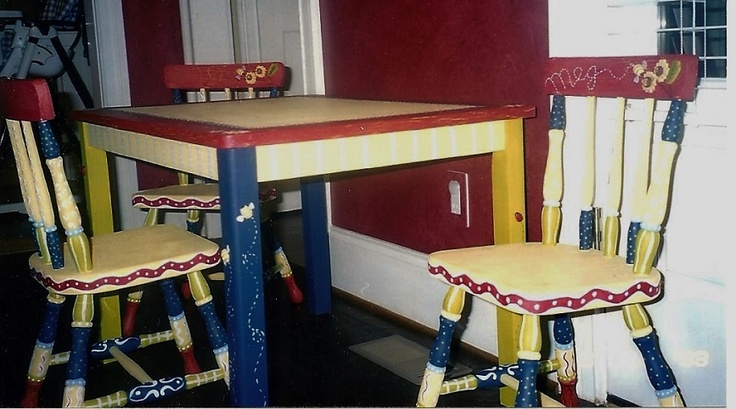 1000 images about kids room furniture painting on - Paint for childrens furniture ...