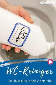 Natürlichen WC-Reiniger einfach selbst herstellen