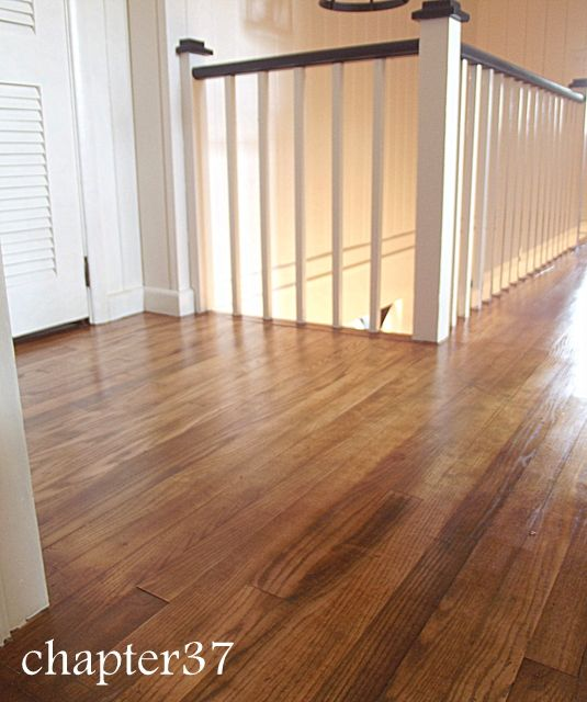 Wood Floor Sanded Down And Refinished No New Stain