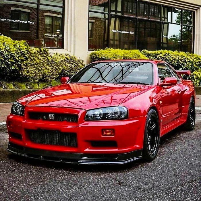 19+ Nissan skyline gtr r34 red wallpaper iphone