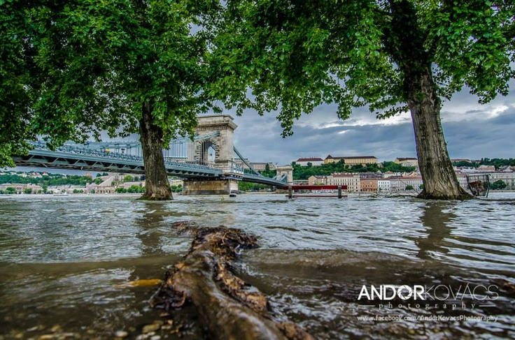 The crest of the flood-swollen Danube River surged toward the Hungarian capital of Budapest on Friday, while communities along the Elbe in Germany braced for high water as the river churned toward the North Sea. June 7, 2013.