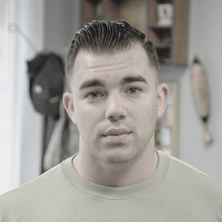 cool 50 Classic Marine Haircuts for Men - Serving In Style Check more at http://machohairstyles.com/best-marine-haircuts/