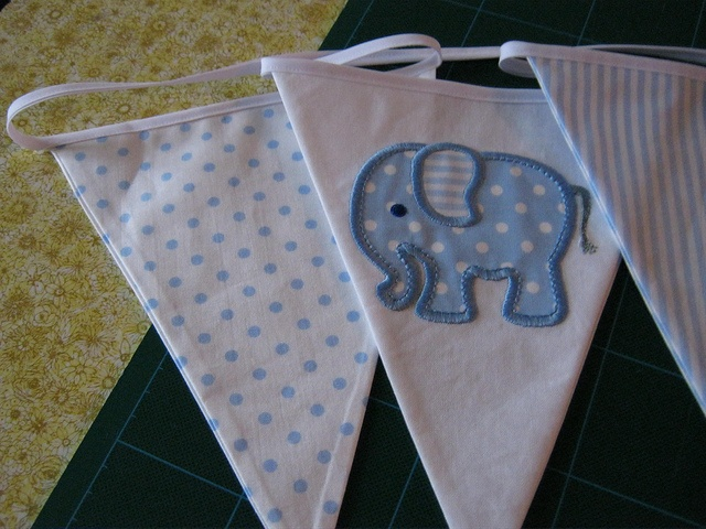 Sample Personalised Bunting by heartfelt-things, via Flickr