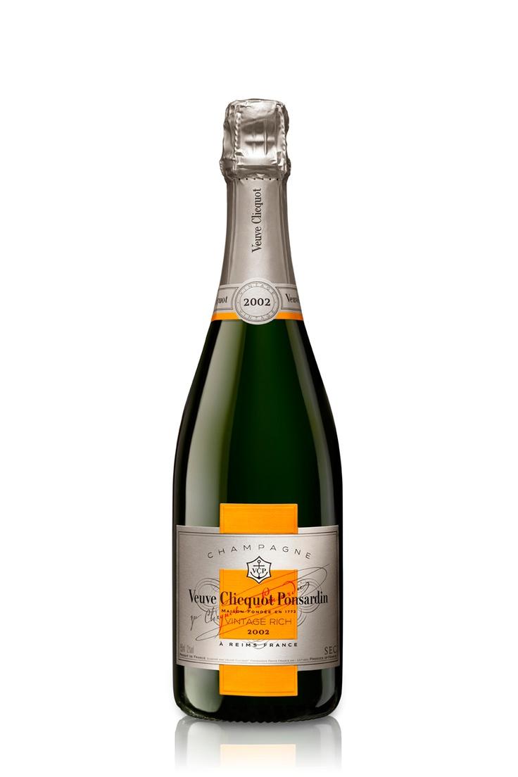 6 Bottles of 2002 Veuve Clicquot Ponsardin Vintage Rich, £315.00