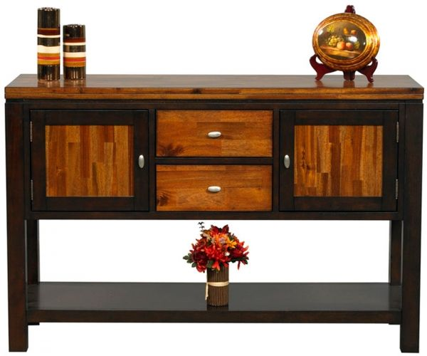 Acacia 54-Inch Server   Bare Woods Furniture   Real Wood Furniture Finished Your Way