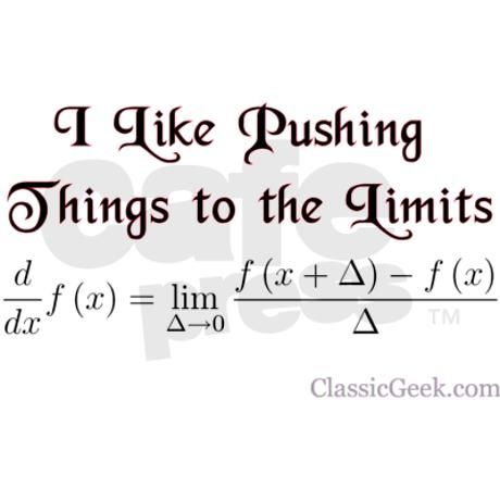 Cards and prints are perfect for giving to the mathematics majors or calculus geeks in your life. Don't forget your favorite math teachers or professors. Derivatives and limits can be fun, go figure!