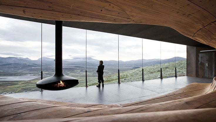 Reindeer watching in Norway from an amazing building located in the middle of (appearantly) nowhere.  Can't wait.