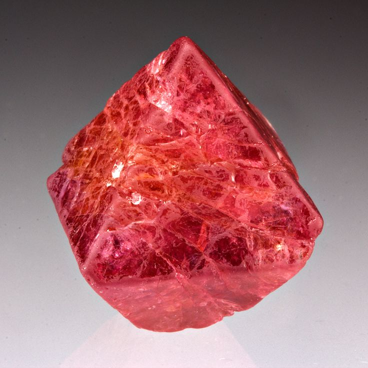 Spinel - is the magnesium aluminium member of the larger spinel group of minerals. It has the formula MgAl2O4. Balas ruby is an old name for a rose-tinted variety. Pein Pyit, Mogok, Mandalay Division, Myanmar