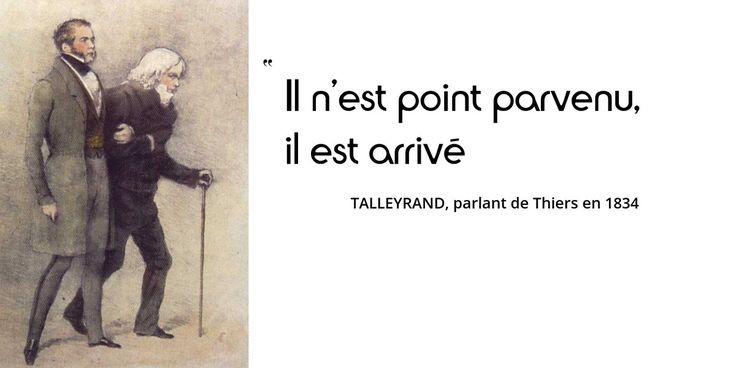 Aujourd'hui sur notre site, Talleyrand sous la Monarchie de Juillet. Le revenant a toujours autant d'esprit...