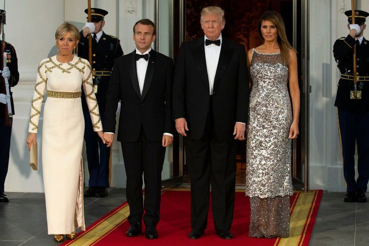 Melania Trump at the State Dinner in Chanel Gave Everyone Something to Chew On