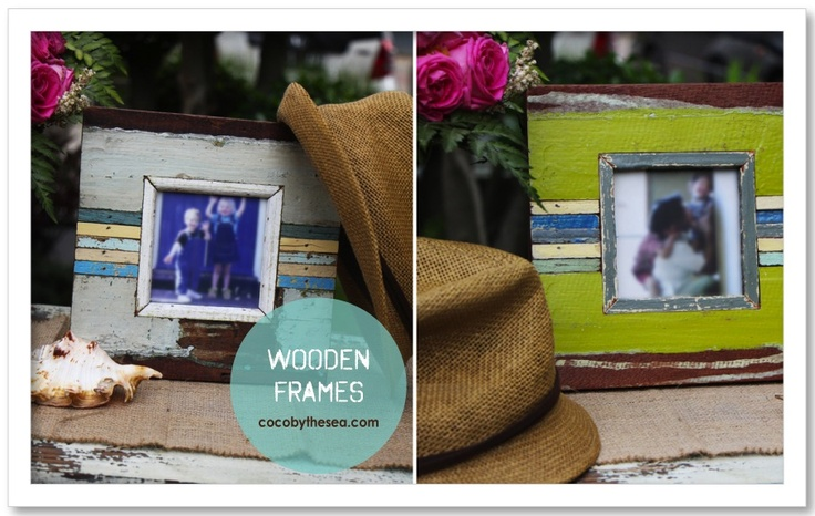 Frames from COCO BY THE SEA.  www.cocobythesea.com coastal and nautical decorations/accessories