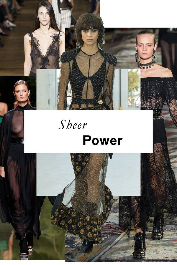 The 11 top trends of Spring 2017: Sheer Power