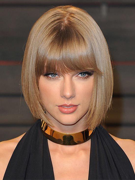 Taylor Swift Mittlere Gerade Frisuren Taylor Swift Hair