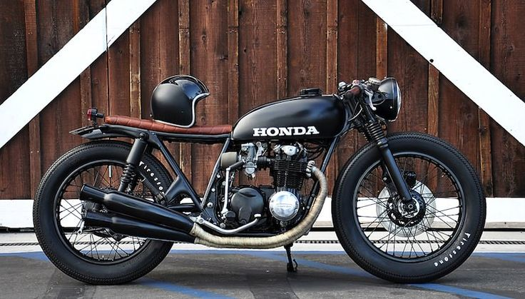 Honda CB550 custom Honda CB550 by Seaweed & Gravel