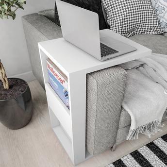 Mesa Apoio/Lateral Book Lider Design
