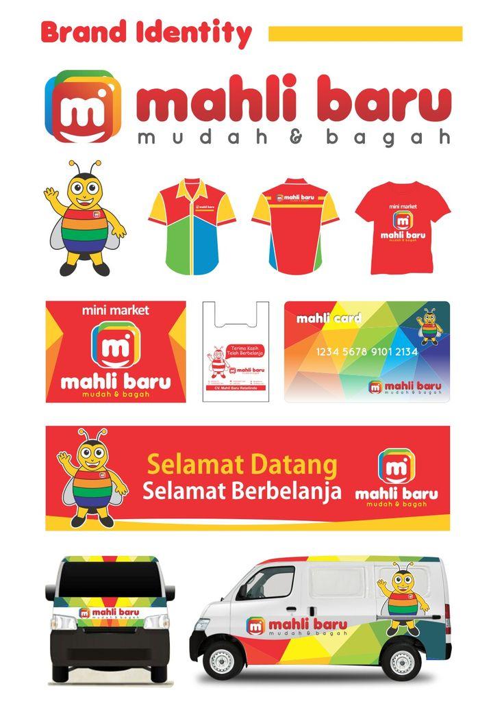 Brand identity Mahli baru