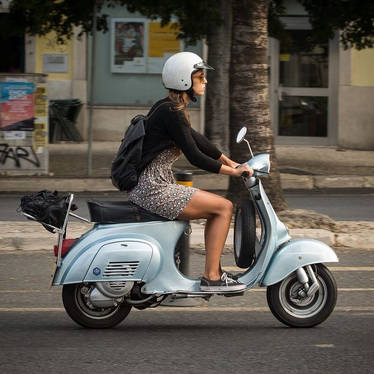 I want another scooter. And sometimes to live in a city again. Sometimes.
