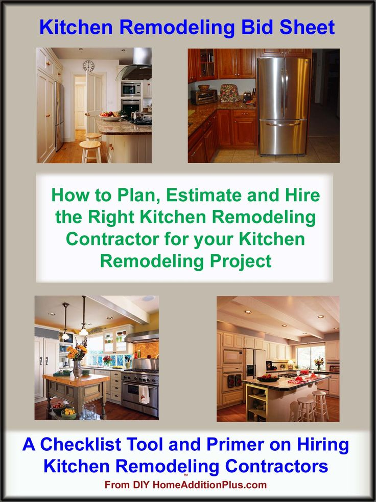 The 25+ best DIY general contractor checklist ideas on Pinterest - contractor estimate