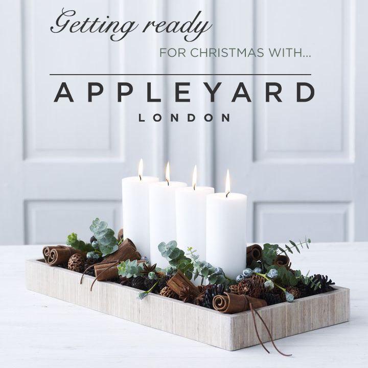 A peek at Appleyard London's Christmas food, wine and decorations.