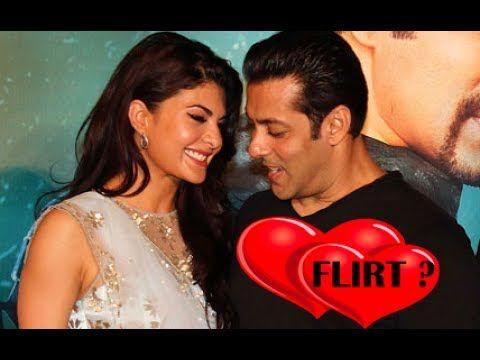"Salman Khan & Jacqueline Fernandez Flirt in Public at ""Kick Trailer"" & ""..."