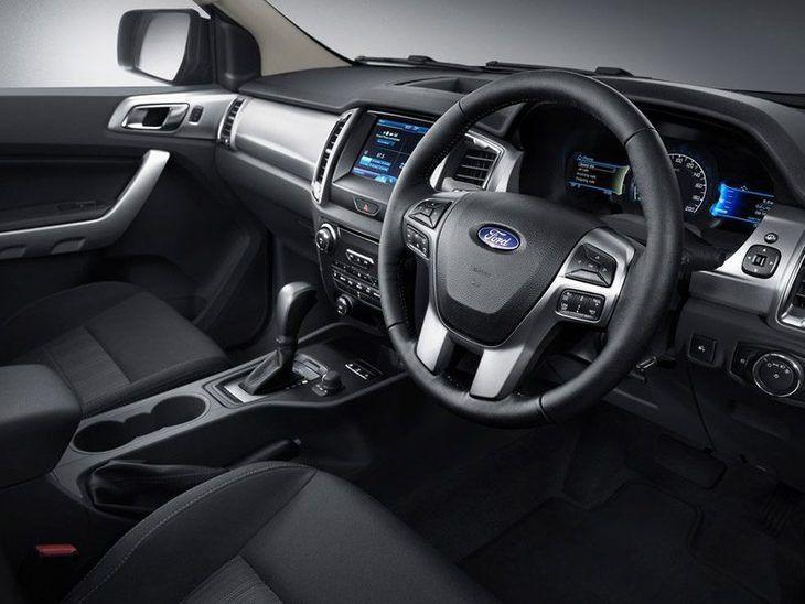 Ford Ranger Black Interior