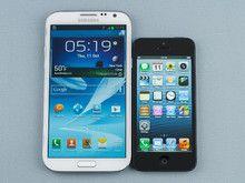 s3 vs iphone 5