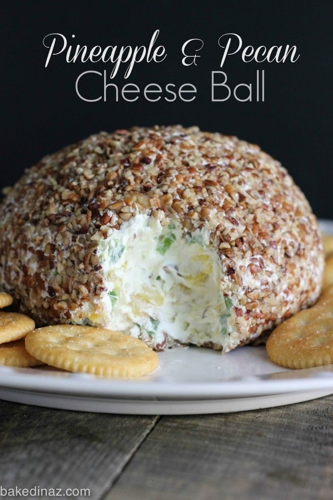 This cheese ball is my all time favorite! A must for the holidays.