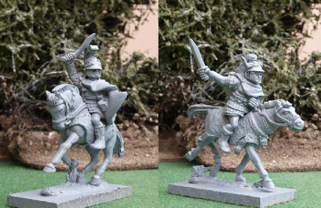 PYR31 Pyrrhus and General, Aventine Miniatures