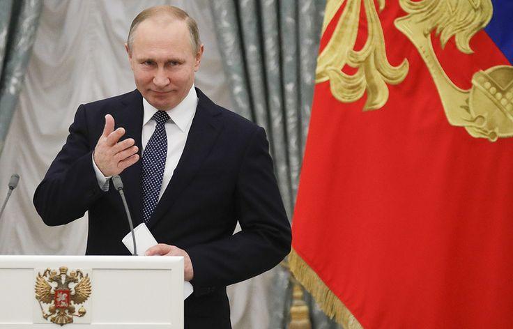 Путин наградил орденами РФ руководство Катарского фонда, Glencore и Интеса   Экономика и бизнес   10 апреля, 15:34 дата обновления: 10 апреля, 15:51 UTC+3   Подробнее на ТАСС:   http://tass.ru/ekonomika/4170665