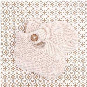 Sweet knit booties