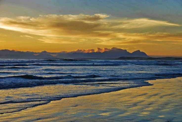 Sunset - Strand,Western Cape,South Africa.  Photo by Magda Mölle