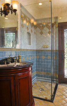 Valero Steam Shower mediterranean-bathroom