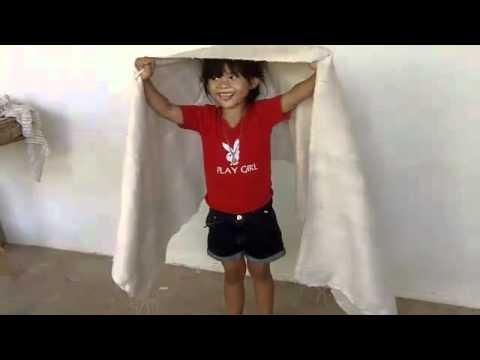 "Our village Thai silk ""models"""