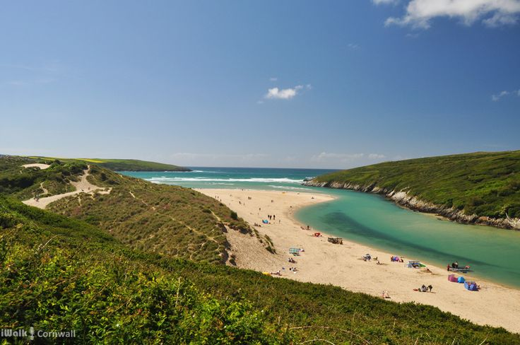 Crantock and the Gannel, Cornwall