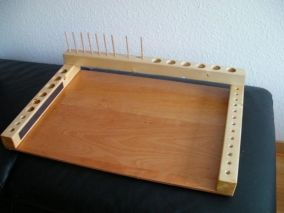 Ian Wilson's model - This large and practical tying station was made by Ian Wilson