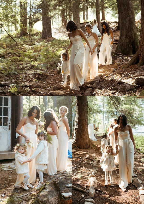Wedding Trend: Jumpsuits for Brides & Bridesmaids. Yay or Nay?