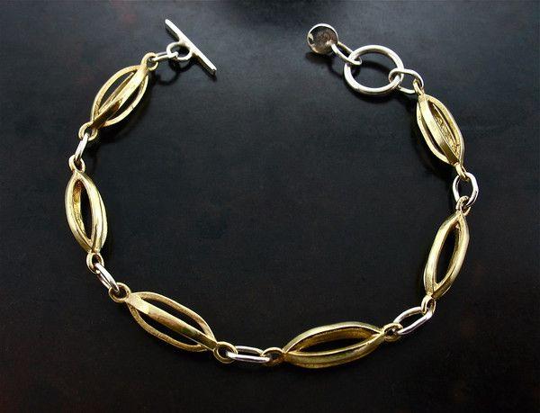 Jelena Behrend Signature link necklace - Metallic RjYCmKa3