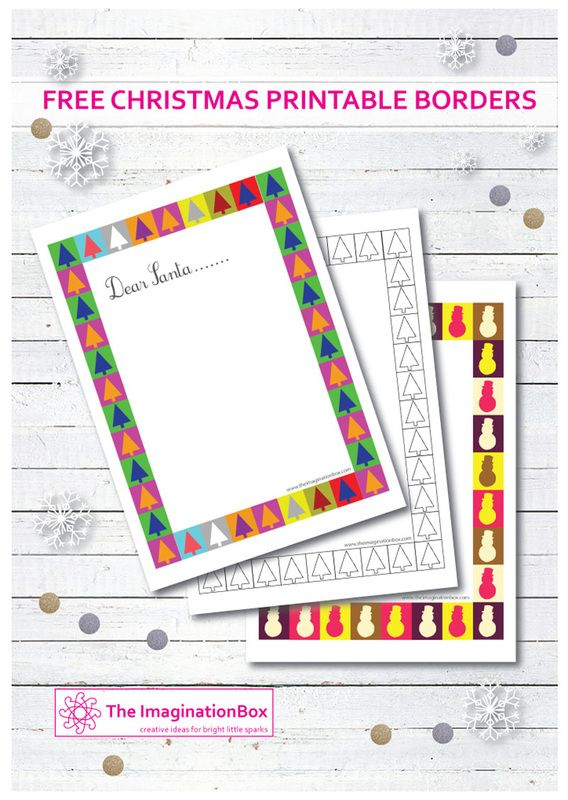 Now select the letter layout stamp for recieving the santas response free printable festive border downloads spiritdancerdesigns Images