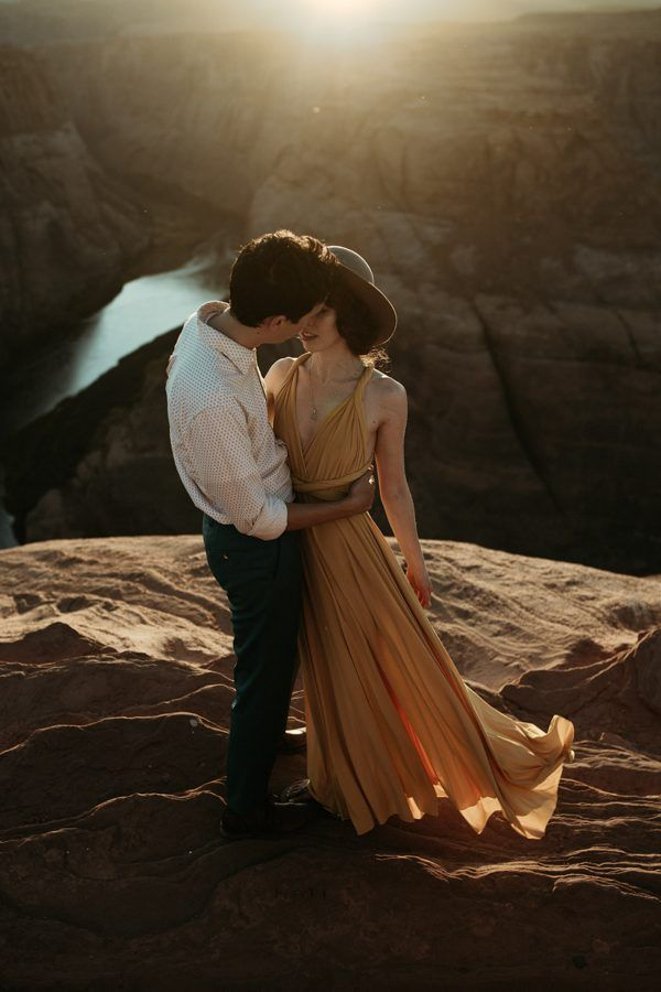 This canyon engagement is enchanting | Image by Shepard Visuals
