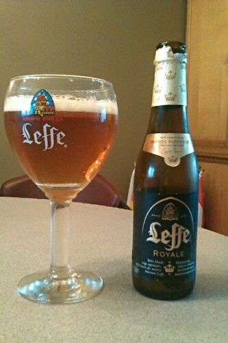 A great beer from the great Leffe. Leffe Royale. Leffe is a big brand name, and it is not without reason! Very nice beer.