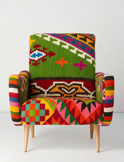 colorful armchair!